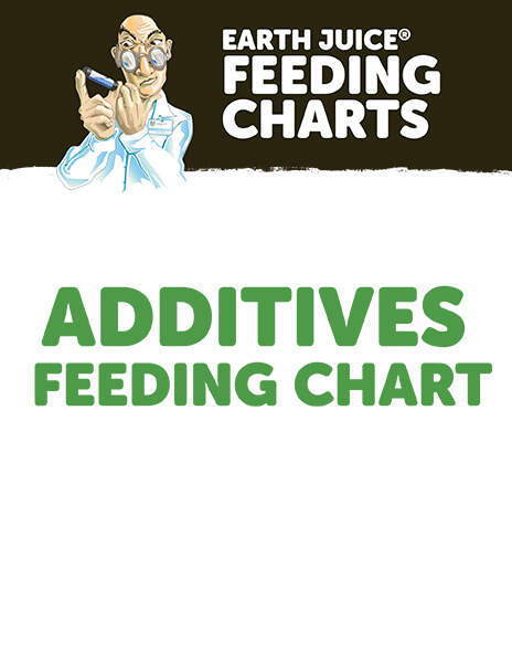 Earth Juice Feeding Charts: Additives thumbnail