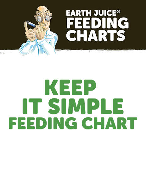 Earth Juice Feeding Charts: Keep It Simple thumbnail